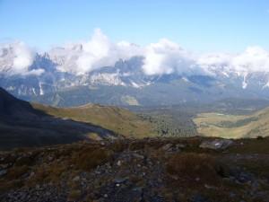 auf Augenhöhe mit den Dolomiten
