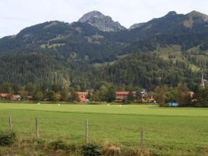 Bayrischzell mit Wendelstein