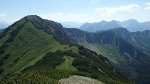 Berge, Berge, Berge, und alles auf Augenhöhe