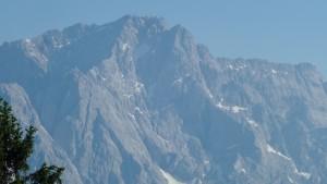 Zoom auf die Zugspitze