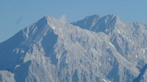 Zoom auf die Alpspitze