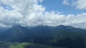 Das Ammergebirge alias die Ammergauer Alpen auf Augenhöhe